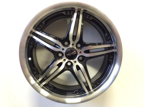 1 st. Incubus Black polish 5x112 - 7,5x17 - ET35 - Nav 73,1 - 107827