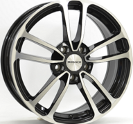 "16"" MONACO CL1 - Gloss Black / Polished 6,5x16 - ET38"