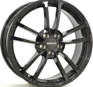 "16"" MONACO CL1 - Glossy Black 6,5x16 - ET38"