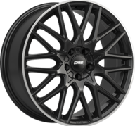 "17"" CMS C25 - Gloss Black / Polished lip 7x17 - ET51"