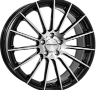 "17"" MONACO FORMULA - Gloss Black / Polished 7,5x17 - ET37"