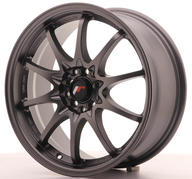"17"" JAPAN RACING JR5 GUNMETAL"