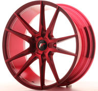 "20"" JAPAN RACING JR21 PLATINUM RED"