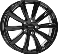 "19"" MONACO GP6 - Glossy Black 8,5x19 - ET40"
