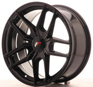 "18"" JAPAN RACING JR25 GLOSSY BLACK"
