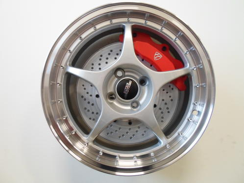 "17"" Inter Action Race - Silver polish"