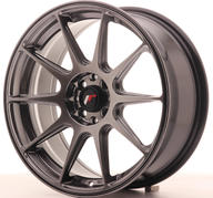 "17"" JAPAN RACING JR11 HYPER BLACK"