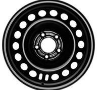 """16"""" KRONPRINZ STEEL STAAL - Black 6,5x16 - ET41"""