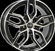 "16"" ANZIO SPARK - Gloss Black / Polished 6,5x16 - ET46"