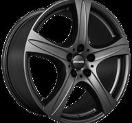 "18"" RONAL R55 SUV - Dull Black 8,5x18 - ET45"