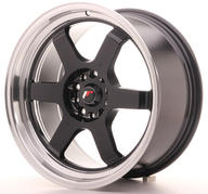 "18"" JAPAN RACING JR12 GLOSSY BLACK"