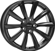 "19"" MONACO GP6 - Dull Black 8,5x19 - ET40"