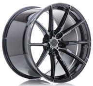 "21"" CONCAVER WHEELS - CVR4 - DOUBLE TINTED BLACK"
