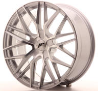 "20"" JAPAN RACING JR28 SILVER MACHINED"