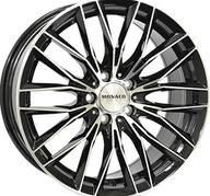 "20"" MONACO GP2 - Gloss Black / Polished 8,5x20 - ET35"