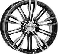 "19"" MONACO GP8 - Gloss Black / Polished 8x19 - ET32"