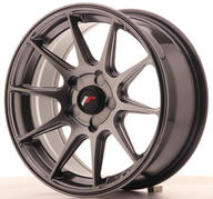 "16"" JAPAN RACING JR11 HYPER BLACK"