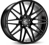 "20"" WRATH WHEELS WF3 - GLOSSY BLACK – FLOW FORMING"