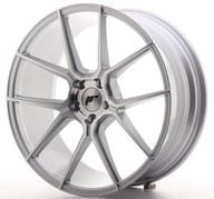 "20"" JAPAN RACING JR30 SILVER MACHINED"