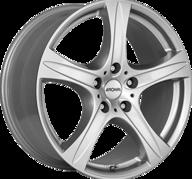 """17"""" RONAL R55 SUV - Crystal Silver 7,5x17 - ET55"""