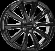 "18"" MONACO GP6 - Glossy Black 8x18 - ET45"