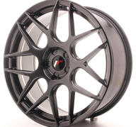 "20"" JAPAN RACING JR18 HYPER BLACK"