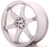 "19"" JAPAN RACING JR3 MACHINED SILVER"