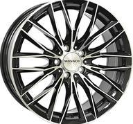 "19"" MONACO GP2 - Gloss Black / Polished 9,5x19 - ET40"