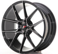 "20"" JAPAN RACING JR30 BRUSHED BLACK"