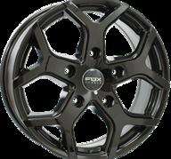 "18"" FOX VIPER 4 - Glossy Black 7,5x18 - ET45"