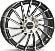 "18"" MONACO TURBINE - Gloss Black / Polished 8x18 - ET45"