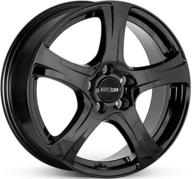 "16"" OXXO NARVI - Glossy Black 6,5x16 - ET25"