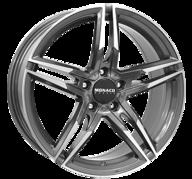 """19"""" MONACO GP1 - Anthracite / Polish 8x19 - ET30"""
