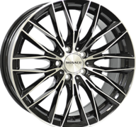 "19"" MONACO GP2 - Gloss Black / Polished 8,5x19 - ET30"