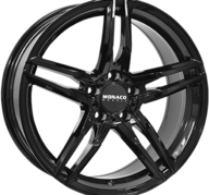 "17"" MONACO GP1 - Glossy Black 7,5x17 - ET27"