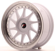 "18"" JAPAN RACING JR26 WHITE"