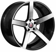 "18"" AXE WHEELS EX18 - Glossy Black Polished Face"