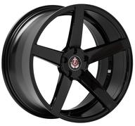 "20"" AXE WHEELS EX18 - Full Glossy Black"
