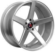"20"" AXE WHEELS EX18 - Silver Brushed Face"