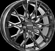 "19"" MONACO GP9 - Glossy Black 8,5x19 - ET40"