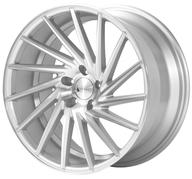 "19"" 1AV WHEELS - ZX1 - SILVER POLISHED FACE - LEFT/RIGHT"