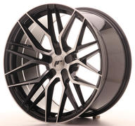 "21"" JAPAN RACING JR28 BLACK MACHINED"