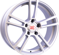 """19"""" MILLE MIGLIA M1002 - Dull Silver / Polished 9,5x19 - ET37"""