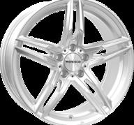 "18"" MONACO GP1 - Silver 8x18 - ET45"