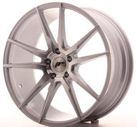 "20"" JAPAN RACING JR21 SILVER MACHINED"
