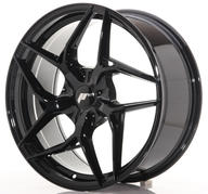 "19"" JAPAN RACING JR35 GLOSSY BLACK"