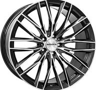 "19"" MONACO GP2 - Anthracite / Polish 8,5x19 - ET45"