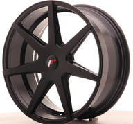 "20"" JAPAN RACING JR20 MATT BLACK"