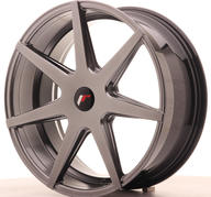 "20"" JAPAN RACING JR20 HYPER BLACK"