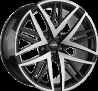 "19"" CMS B1 - Gloss Black / Polished 8,5x19 - ET35"